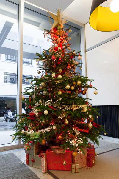 decorate office for christmas. Click To Enlarge Image 10Ft-Traditional-Decorated-.jpg Traditional Decorated Tree Decorate Office For Christmas