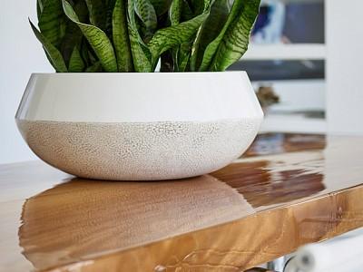Bordo Bowl White