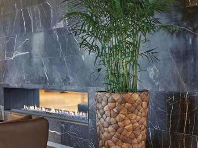 Bosco Vase Medium in Coconut